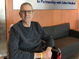 patient success stories General Rehab David Volkman