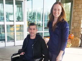 patient success stories Spinal Cord Injury Gary Davis